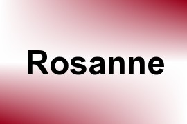 Rosanne name image