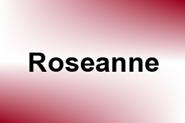 Roseanne name image