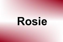 Rosie name image