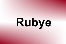 Rubye name image