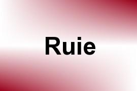 Ruie name image