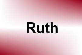 Ruth name image