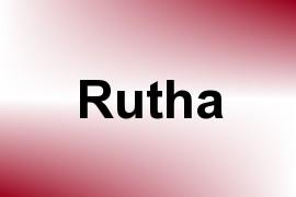 Rutha name image