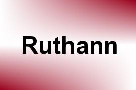 Ruthann name image
