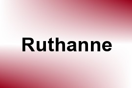 Ruthanne name image