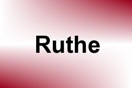 Ruthe name image