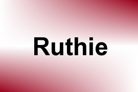 Ruthie name image