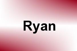 Ryan name image