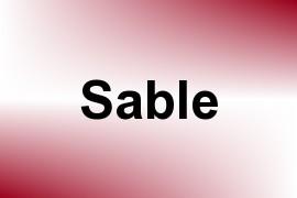 Sable name image