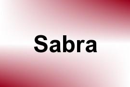 Sabra name image