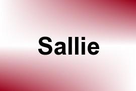 Sallie name image
