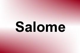 Salome name image