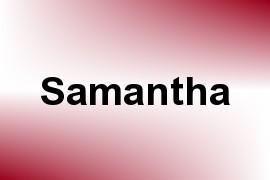 Samantha name image