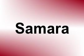 Samara name image