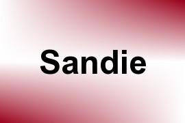 Sandie name image