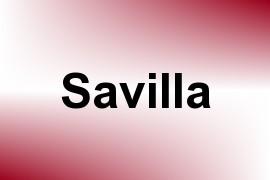 Savilla name image