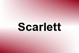 Scarlett name image
