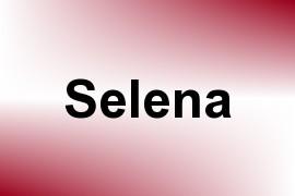 Selena name image