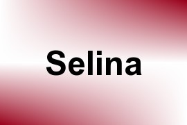 Selina name image