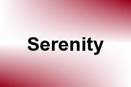 Serenity name image