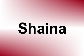 Shaina name image
