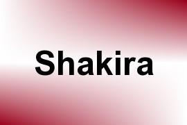 Shakira name image