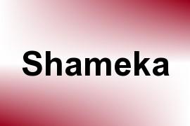 Shameka name image