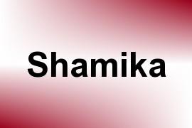 Shamika name image