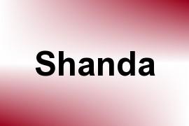 Shanda name image