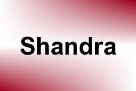 Shandra name image