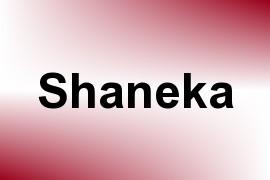 Shaneka name image