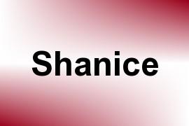 Shanice name image