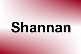 Shannan name image