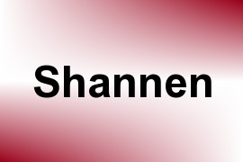 Shannen name image
