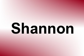 Shannon name image