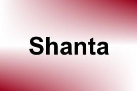 Shanta name image