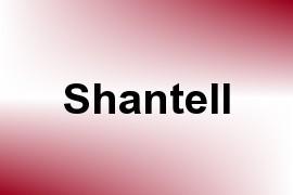 Shantell name image