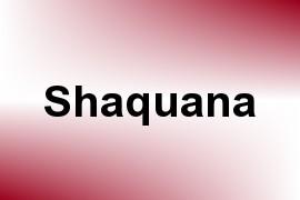 Shaquana name image