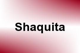 Shaquita name image