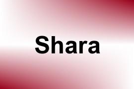 Shara name image