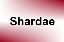 Shardae name image
