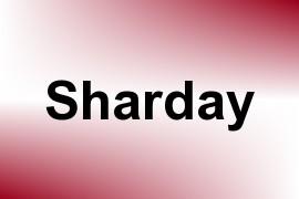 Sharday name image