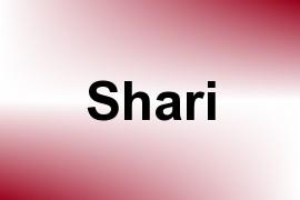 Shari name image