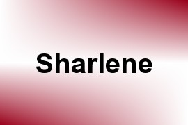 Sharlene name image