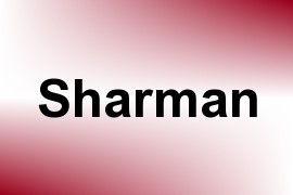 Sharman name image