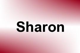 Sharon name image