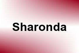 Sharonda name image