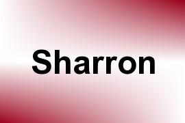 Sharron name image