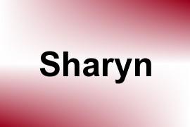 Sharyn name image