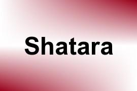 Shatara name image